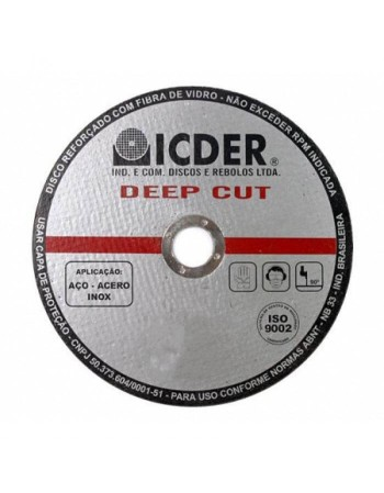 "DISCO CORTE DEEP CUT ICDER 41/2""X1 0"