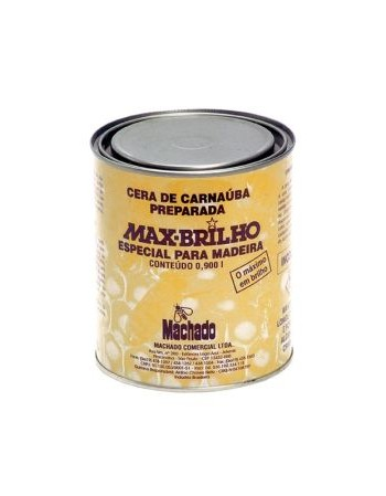 CERA CARNAUBA MACHAD0 INCOLOR 900ML