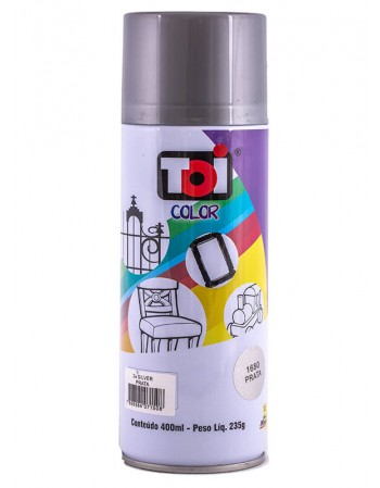 SPRAY TOI METALICO PRATA