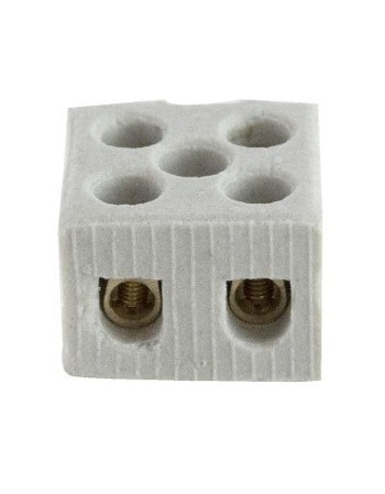 CONECTOR FOXLUX PORCELANA BIPOLAR 10MM