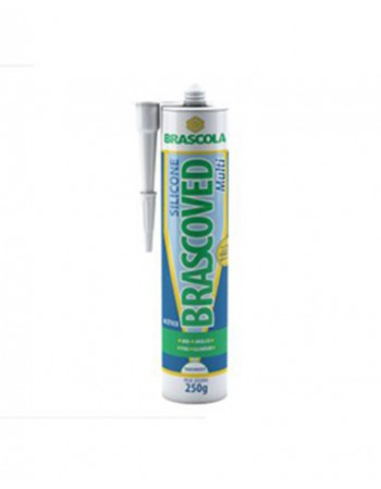 COLA SILICONE BRASCOVED MULTI TRANSP 255G (N)